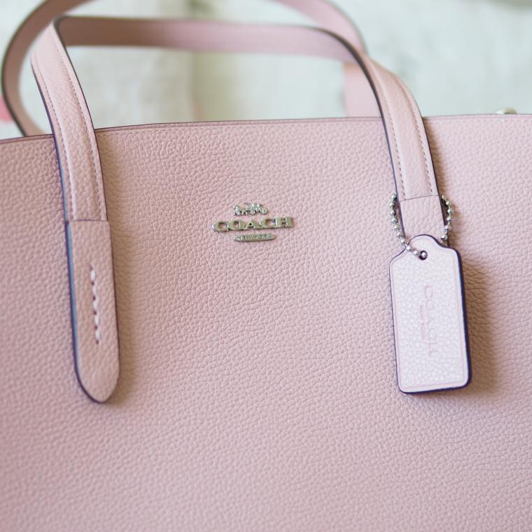 Coach laukku vaaleanpunainen