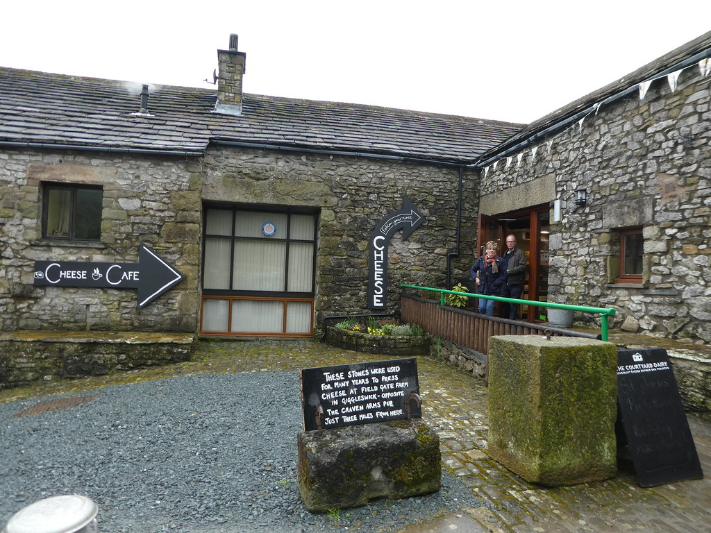 Courtyard Dairy near Settle