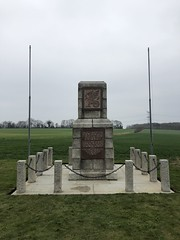 War memorial on the run-in to Caen