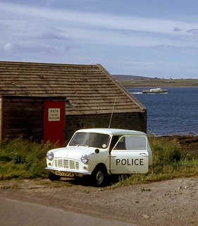 Northern Constabulary - Longhope beat vehicle 1975