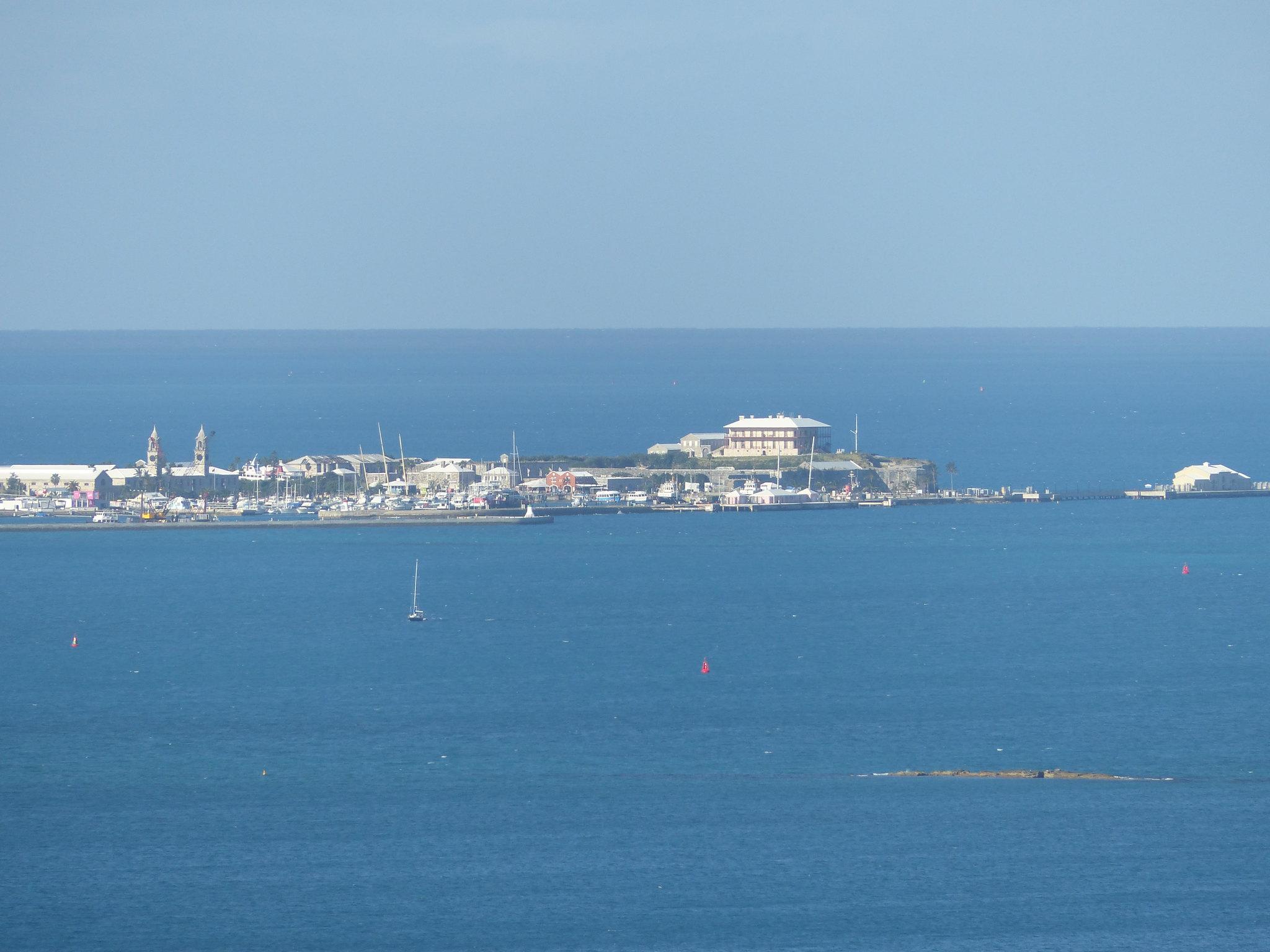 Royal Naval Dockyard from Gibbs Hill Lighthouse