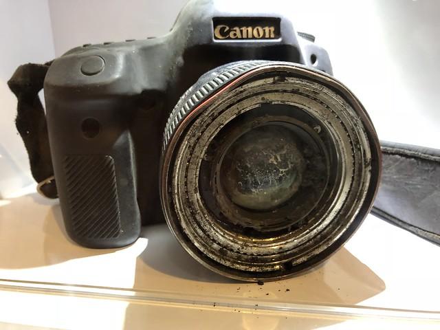 David Gilkey's Camera