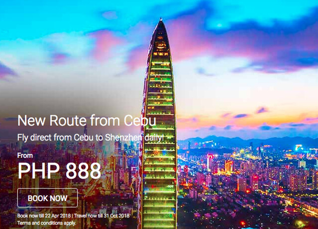 Cebu to Shenzhen AirAsia New Route