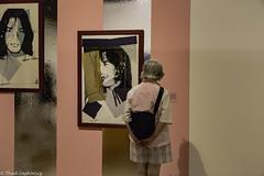 Warhol Admirer in Pink