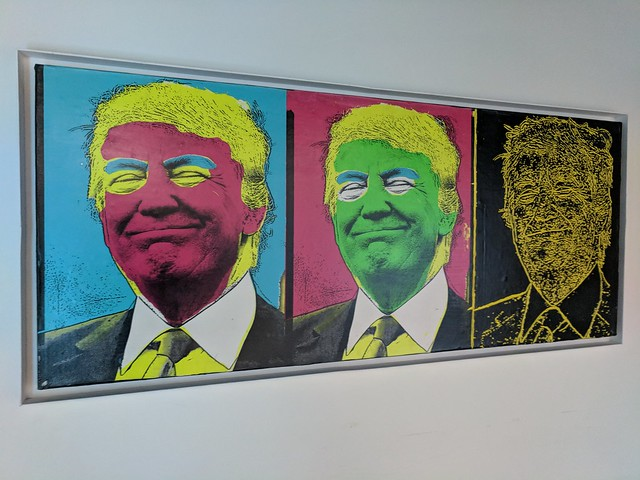 Trumped-up artwork