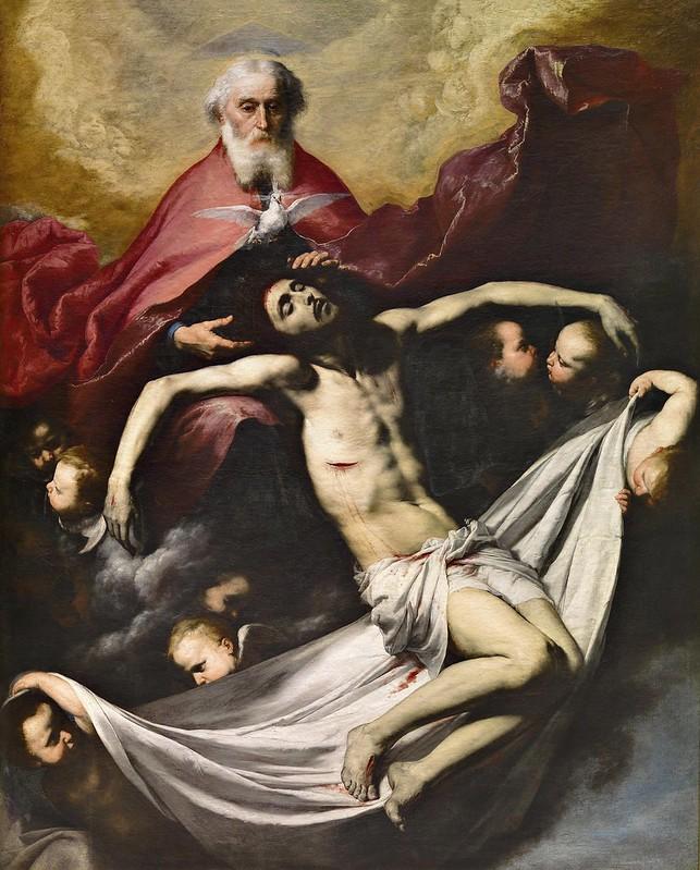 Josep de Ribera - La Trinidad
