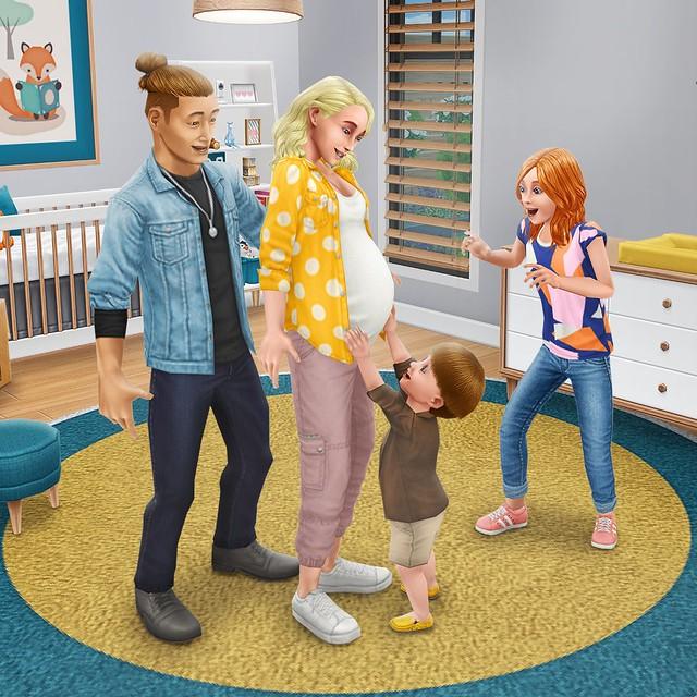 Atualização de Gravidez Chegando ao The Sims FreePlay