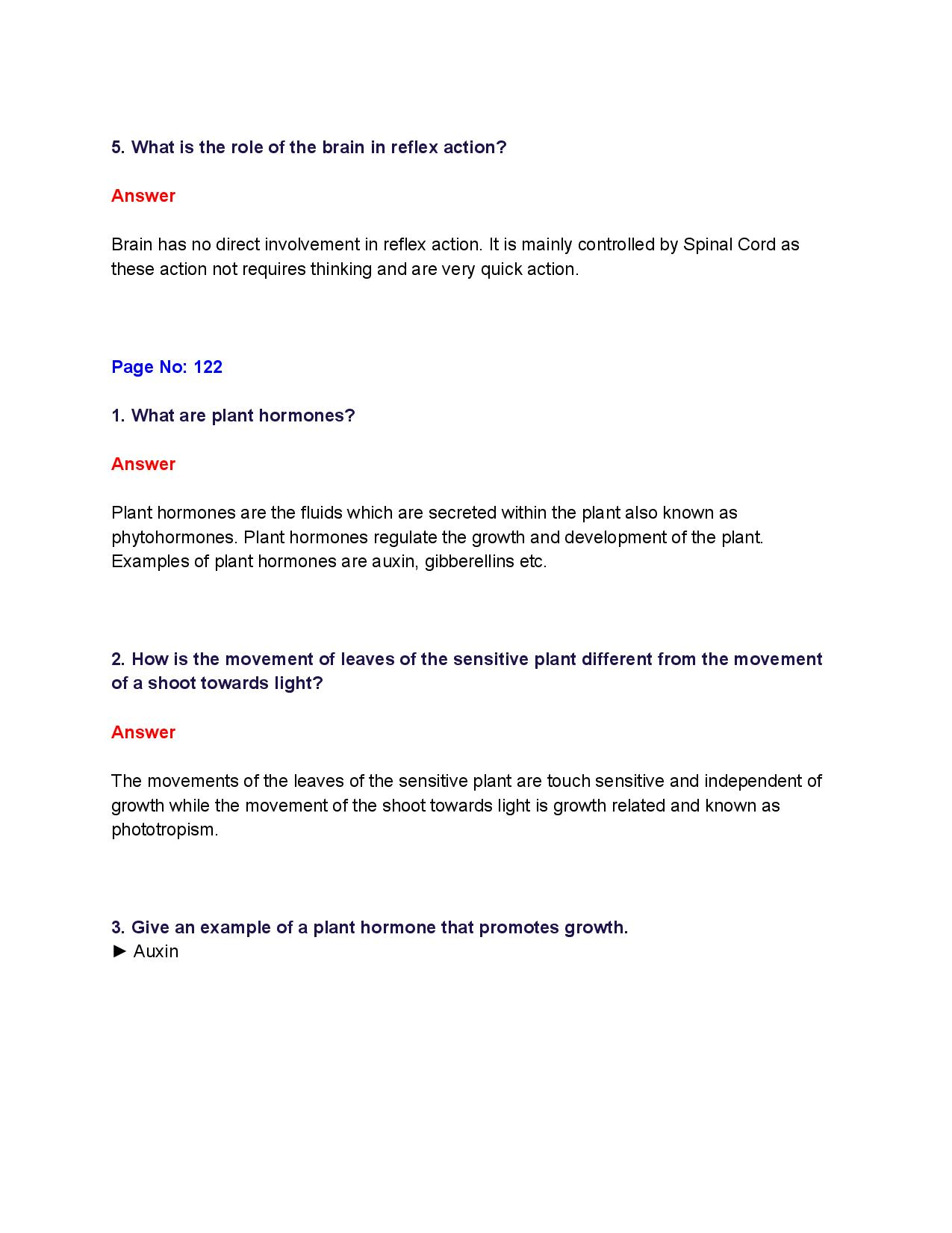 NCERT Solutions for Class 10th_ Ch 7 Control and Coordination Science-page-002