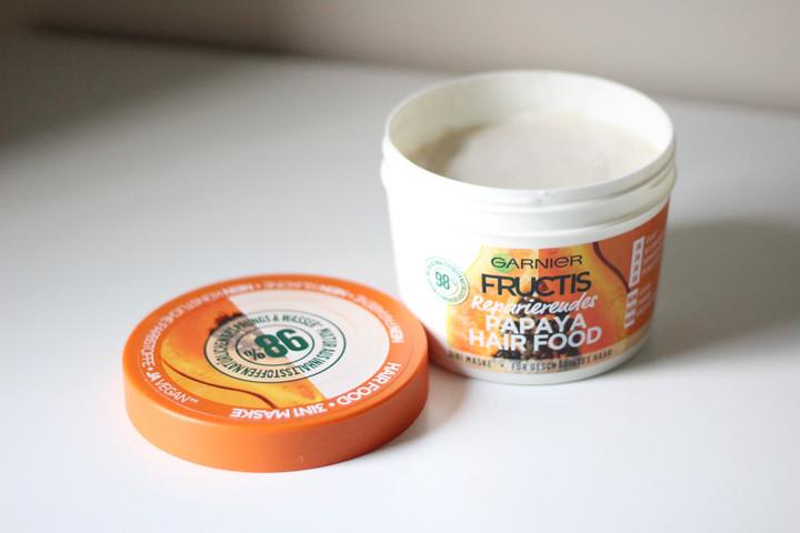 Garnier papaja Hair Food mask