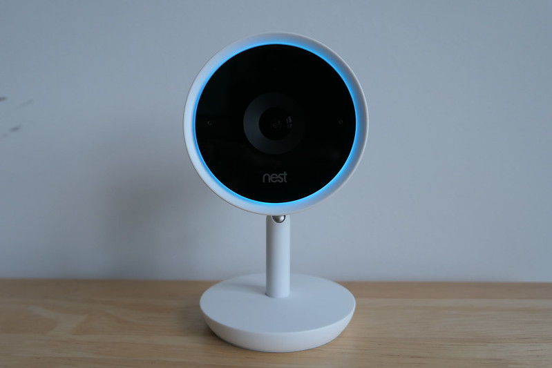 Nest Cam IQ Indoor - Lighted Ring