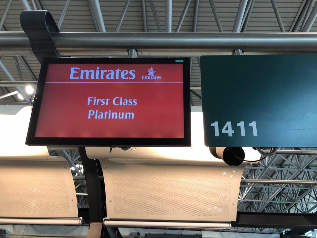 Emirates Lounge Milan MXP 5