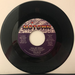 THE BOYS:DIAL MY HEART(RECORD SIDE-A)