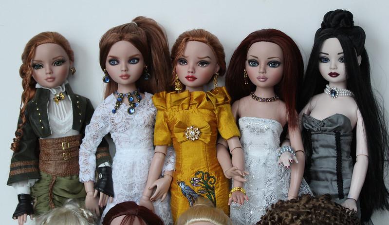 Aerin, Valisa, Kit, Cadence, Willow