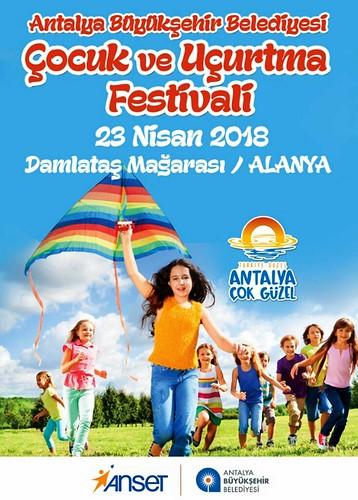 Alanya Antalya Büyükşehir Belediyesi Uçurtma Şenliği