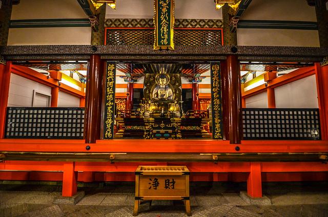 Kiyomizu-dera temple inside