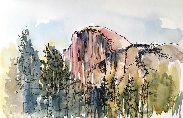 180414_Yosemite Half Dome