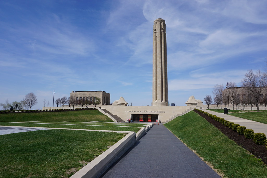 National WWI Museum and Memorial in Kansas City, Mo., April 20, 2018