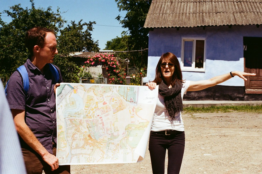 Marla with Rohatyn map from 1846