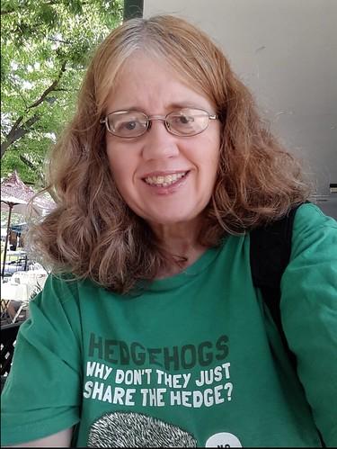 My Selfie at the Greenbelt Green Man Festival