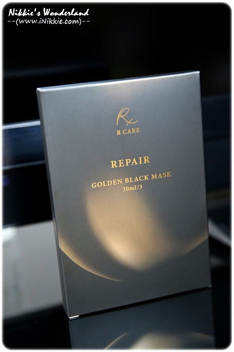 R CARE 滋潤處方面膜REPAIR GOLDEN BLACK MASK