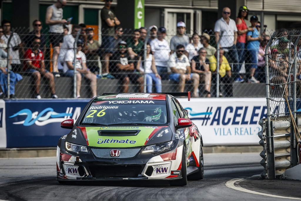 26 RODRIGUES Jose (PRT), Honda Civic TCR, Target Competition, action during the 2018 FIA WTCR World Touring Car cup of Portugal, Vila Real from june 22 to 24 - Photo Francois Flamand / DPPI