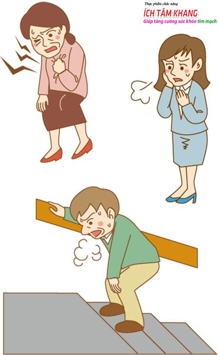 Ho, phù, khó thở, mệt mỏi là dấu hiệu cảnh báo suy tim sớm ở người tăng huyết áp