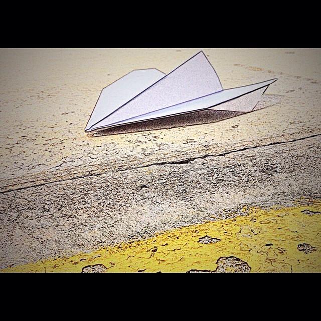 The Paper Plane ...