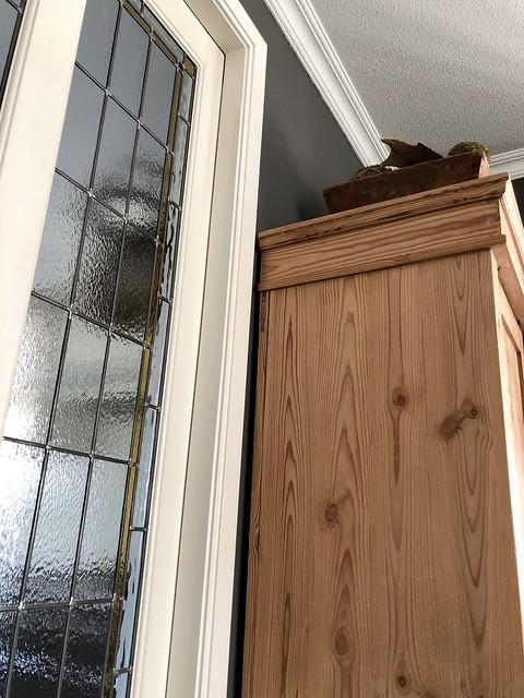 Glas in lood deuren kast