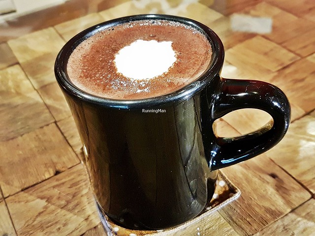Valrhona Hot Chocolate With Malibu Coconut Rum