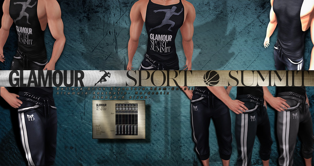 **PROMO NEW RELEASE**Glamour Sport Summit OUTFIT - TeleportHub.com Live!