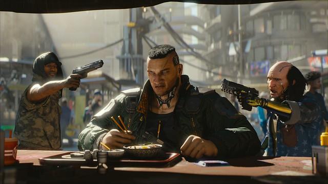 #E3 Cyberpunk 2077 Screens & Artworks