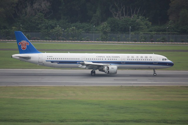 A321  B-6683, Canon EOS 450D, Canon EF-S 55-250mm f/4-5.6 IS
