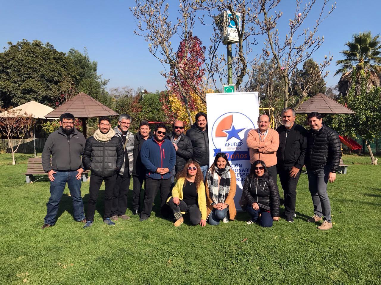 Exitosa Asamblea Nacional AFUDEP en Santiago y Olmué - 30 Mayo 2018