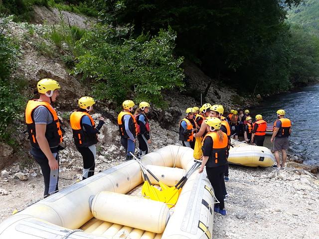 Rafting rijekom neretvom pet sati