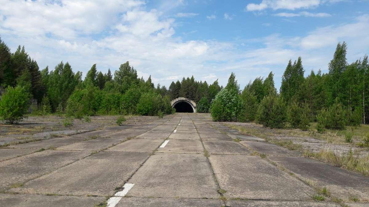 Забытый аэродром в Громово