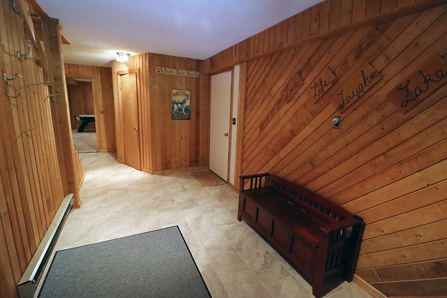 Entry way/ mud room with shared bath