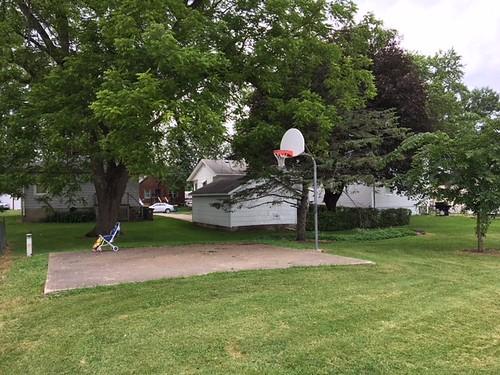 Virginia Place Basketball hoop