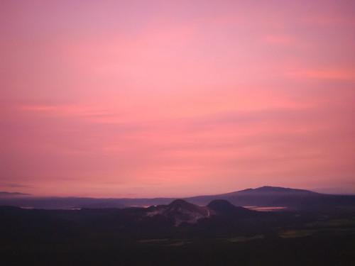 sunset sky geotagged scenery hokkaido musashicyclo 2003hkushiro cycloallsummer rdoudou52 2003hkushiro2 geo:lat=43573675 geo:lon=144501801 hokkaidoscenery