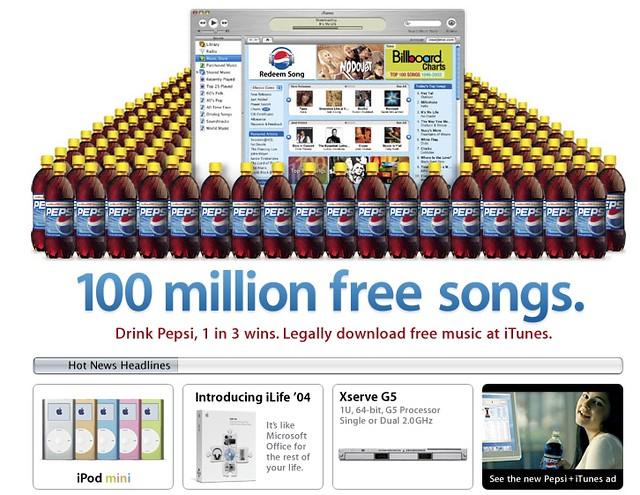 iTunes Music Store 2004