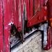 A Red Wooden Door by Special