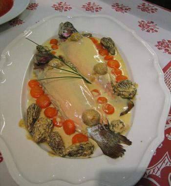 truite-farcie-aux-morilles