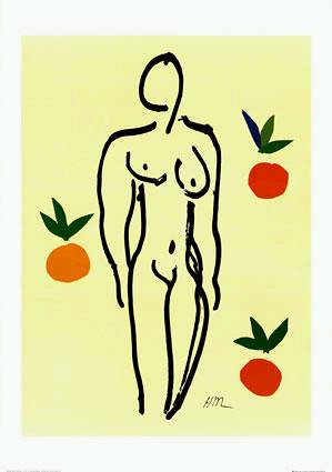 nude_with_oranges by Inninn