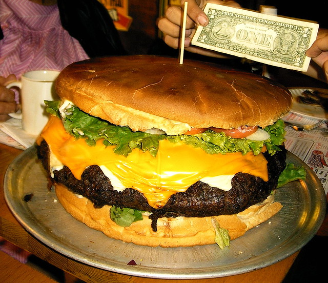 Belly Buster Burger | Flickr - Photo Sharing!