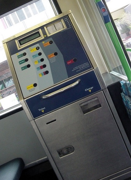 Tram ticket robot