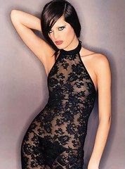 latex clothing(0.0), lingerie(0.0), human body(0.0), brown hair(0.0), active undergarment(1.0), lingerie top(1.0), black hair(1.0), neck(1.0), textile(1.0), model(1.0), clothing(1.0), undergarment(1.0), limb(1.0), leg(1.0), photo shoot(1.0), thigh(1.0), dress(1.0),