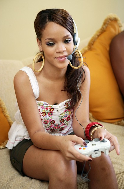 Rihanna Xbox Live Game With Fame | Flickr - Photo Sharing!