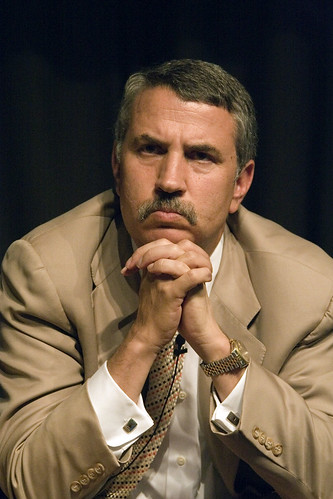 Very Serious Thomas Friedman (Photo: haynes, flickr)