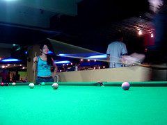 games(0.0), carom billiards(0.0), indoor games and sports(1.0), individual sports(1.0), billiard room(1.0), snooker(1.0), sports(1.0), recreation(1.0), nine-ball(1.0), cue stick(1.0), pool(1.0), billiard table(1.0), recreation room(1.0), english billiards(1.0), cue sports(1.0),
