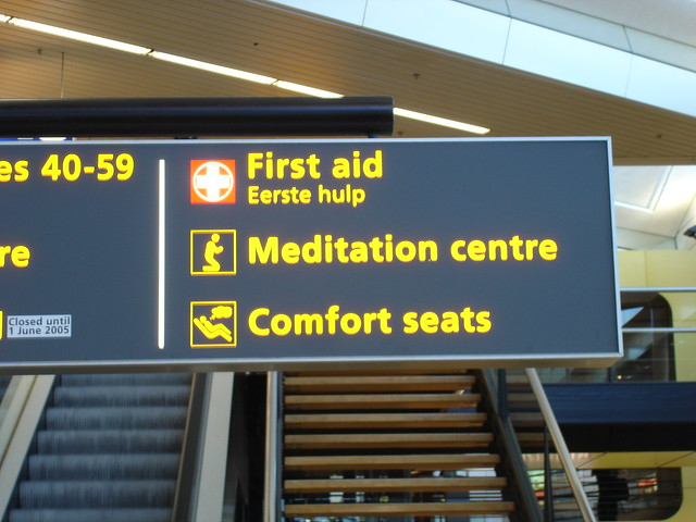 meditation and comfort