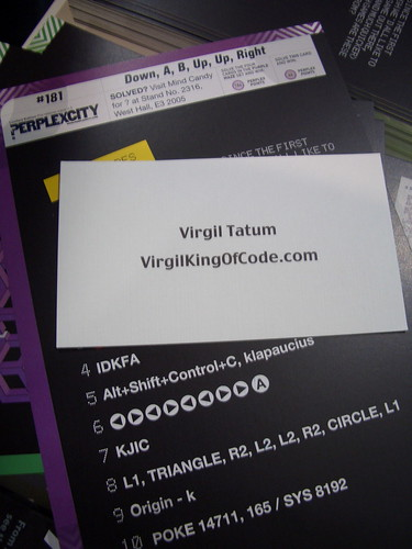 Virgil Tatum - King of Code